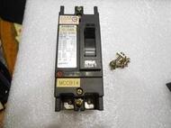 台安電機 無熔線斷路器 (無熔絲開關)TO-100EB 2P 15A 【二手良品、功能正常】
