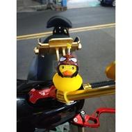 安全帽 小鴨 機車小鴨 黃色小鴨 吊飾 檔車 黃色小鴨 小鴨含安全帽 鴨子 機車 裝飾安全帽小鴨 會發光 會叫 黃色小鴨
