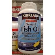 【漫時光】KIRKLAND 科克蘭 新型緩釋魚油軟膠囊1200mg 180粒 魚油/ COSTCO 好市多代購