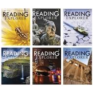 國家地理Reading Explorer 1-5 6本 附Mp3 Mp4 贈送電子版答案