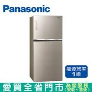 (1級能效)Panasonic國際650L雙門變頻冰箱NR-B659TG-N含配送到府+標準安裝