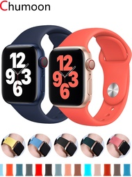 Strap For Apple Watch band 38mm 42 mm 44mm 40mm Sport Silicone belt smartwatch bracelet iwatch series 3 4 5 SE 6 Accessories