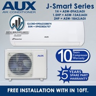 Brand new AUX 1hp J SMART SERIES split type inverter wall mounted aircon ASW09A2/JADI-WITH WIFI