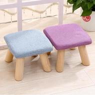 創意圓凳小凳子布藝矮墩茶幾凳家用矮凳沙發凳實木換鞋凳小板凳韓菲兒