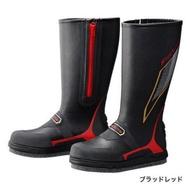 SHIMANO FIRE BLOOD FB-155P 黑色長統磯釣防滑釘鞋