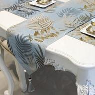 桌旗 桌旗北歐風餐桌茶幾桌旗簡約現代桌布電視櫃長條裝飾布床旗床尾巾