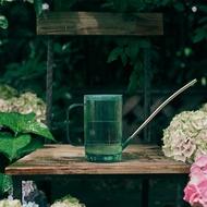不銹鋼長嘴帶蓋水壺塑料灑水壺澆花壺施肥壺淋花盆栽澆水 雙十二
