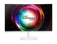 Samsung 31.5 inch. QLED Curved Monitor C32H711