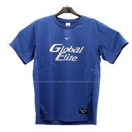 (B4) MIZUNO 美津濃 男 運動上衣 T恤 棒球練習服 吸濕排汗快乾 12TC0L0122 藍【陽光樂活】