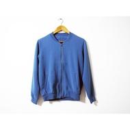 春夏雪紡灰藍飛行外套 棒球外套夾克 uniqlo h&m