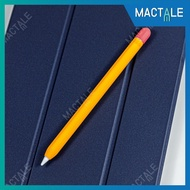Mactale ปลอกปากกาซิลิโคน Apple pencil case Gen 1 2 Stylus silicone twotone เคสปากกา จุก เคสเก็บปากกา เคสซิลิโคน สไตลัส