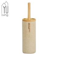[折扣碼現折]【YU Living】北歐風 清潔衛浴用品馬桶刷(原木色)