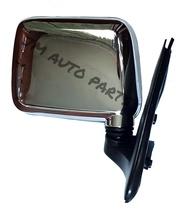 Isuzu Fuego 1997 - 2002 Chrome Manual Adjust Right (Passenger Side) Side Mirror SideMirror