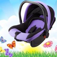 實拍影片!嬰兒提籃式安全座椅 新生兒汽車安全座椅 寶寶車載手提籃 汽車專用便攜搖籃