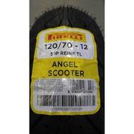 PIRELLI 倍耐力 天使胎 ANGEL SCOOTER 機車輪胎 120/70-12 完工價2200