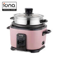 Iona GLRC10 1.0L Rice Cooker with Stainless Steel Steamer