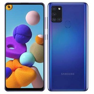 Samsung Galaxy A21s 3/32 GB โทรศัพท์มือถือ มือถือราคาถูก สมาร์ทโฟนรุ่นสุดคุ้ม ชิป Exynos 850, กล้อง 5 ตัว 48MP แบตอึด 5,000 mAh ชาร์จไว 15W บนดีไซน์จอใหญ่ 6.5 นิ้ว