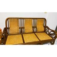 二手編織藤椅(桌子)一組