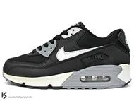 SLY 限定 2015 NSW 經典復刻鞋款 人氣商品 NIKE WMNS AIR MAX 90 ESSENTIAL 女鞋 黑白 黑白灰 皮革 尼龍網布 (616730-012) !