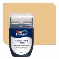 Dulux Colour Play Tester Muted Mustard 28YY 62/321