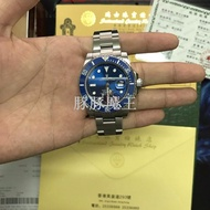 【豚豚魔王】 Rolex手錶潛航者系列 勞力士藍水鬼手錶 勞力士機械表 勞力士綠水鬼 藍水鬼 細節做到完
