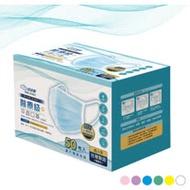 拭拭樂 醫療級成人平面口罩50片/盒─單片獨立精緻包裝