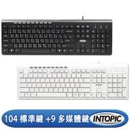 INTOPIC 廣鼎 USB標準鍵盤(KBD-75)