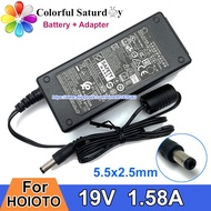 2021-new.b 30W 19V 1.58A ADS 40NP 19 1 19030E SWITCHING Adapter For HP 23ER 22EP DISPLAY 24F MONITOR Charger For HOIOTO ADS40NP191