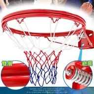 避震彈簧!!標準18吋雙層金屬籃球框(含籃球網)B004-1728標準籃框架.耐用籃筐架子籃網.金屬籃架不含籃球板