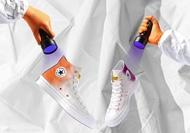 รองเท้าผ้าใบเปลี่ยนสีได้Converse Chuck Taylor All-Star 70s Hi Chinatown Market UV