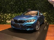1/18 Minichamps BMW M2 Competition 2019 Blue 155028002【MGM】