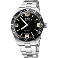 【ORIS】豪利時 Divers Sixty-Five 1965復刻機械錶-黑/40mm(0173377074064-0782018)