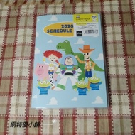 網特優~玩具總動員2020年A6年曆筆記本