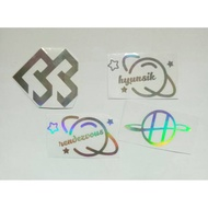 Btob / Hyunsik / Rendez Vous / Rendezvous / Hyun Sik Sticker Hologram Sticker