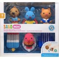 SAGO 阿奇幼幼園 mini 洗澡玩具 8PC ~哆一點~