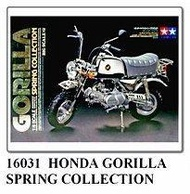 吉華科技@TAMIYA 16031 Honda Gorilla Spring collection 1/6 機車模型