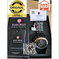 New Arrival Special Promotion Original KADEMAN Japan Enjin Water Proof Men Fashion Watch @ FREE C-SPORT WATCH-1PCS