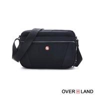 【OverLand】美式十字軍-簡約設計款輕巧斜背包(5386)