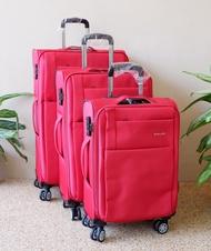 กระเป๋าเดินทางแบบผ้า#กระเป๋าเดินทางขนาด24 นิ้ว#กระเป๋าเดินทางล้อลาก