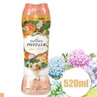 日本 P&G 衣物芳香顆粒 香香豆 橘色 杏桃花香 520ml 3入組