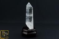 【吉祥水晶】金字塔白水晶柱 21.5cm