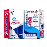 【免運費宅配到府】 Ariel抗菌防臭洗衣精補充包 720g X12包