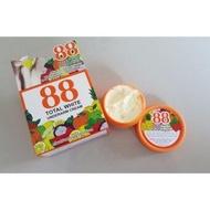 ส่งฟรี 88 Total White Underarm Cream ครีมปรับสภาพผิวรักแร้ขาว ครีมรักแร้ขาว 88