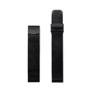Hidden Time Watch 18mm 鋼織帶 - 黑色