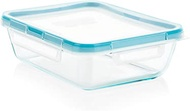 Snapware 6-Cup Total Solution Rectangle Food Storage Container, Glass (1112403)