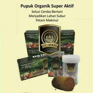 Pupuk Eco Farming ORIGINAL PT BEST/ Pupuk Organik Super Aktif/ obat tani/ penyubur tanaman/ obat tan