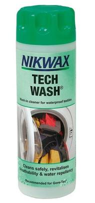 【Nikwax 英國】LOFT TECH WASH 防水布料衣物萬用中性清洗劑 (181)