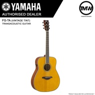 PRE-ORDER (Dec/Jan) Yamaha FG-TA (Vintage Tint) TransAcoustic Guitar - FGTA Traditional western body - FG TA Solid spruce top Trans Acoustic Mahogany back & sides - Absolute Piano - The Music Works Store GA1