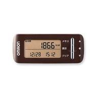1台歐姆龍活動量計熱量掃描棕色HJA-306-BW bloomgreen