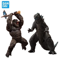 2021 Movie Godzilla Vs Kong Original S.H. Monsterarts Action Figure Model Decoration Collection Toy Birthday Gift